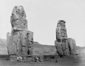 MEMNON_Antonio_Beato_Colosses_de_Memnon_19th_century