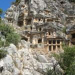 Greek Myra and Church of St Nicholas