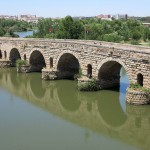 Merida Roman bridge over the Guadiana